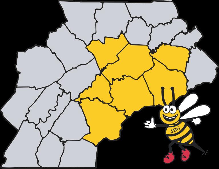 Junk Bee Gone Junk Removal & Dumpster Rentals Service Area