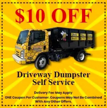 dumpster rental knoxville coupon