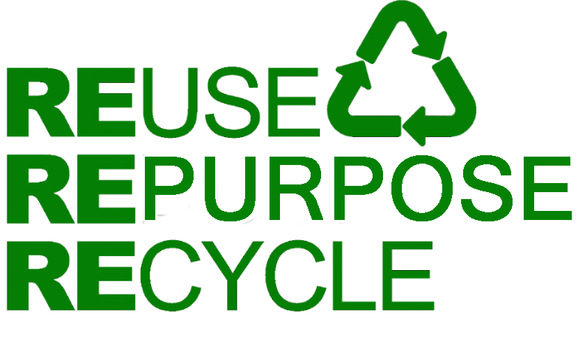 reuse repurpose recycle